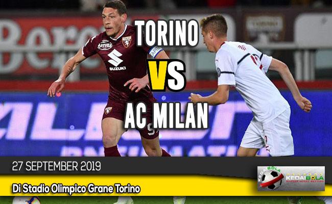 Prediksi Skor Bola Torino vs AC Milan 27 September 2019