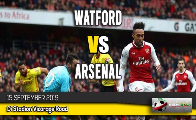 Prediksi Skor Bola Watford vs Arsenal 15 September 2019