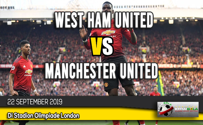 Prediksi Skor Bola West Ham United vs Manchester United 22 September 2019