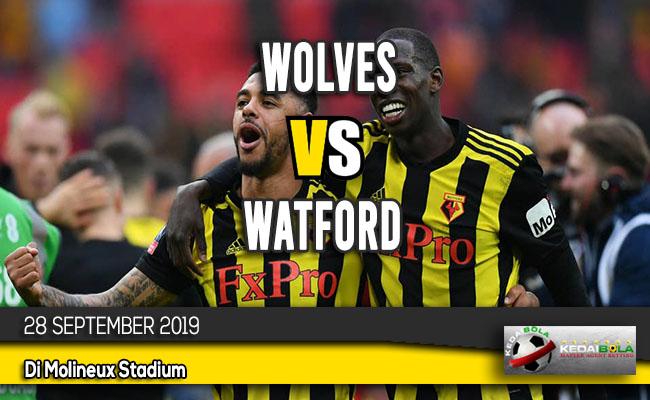 Prediksi Skor Bola Wolves vs Watford 28 September 2019