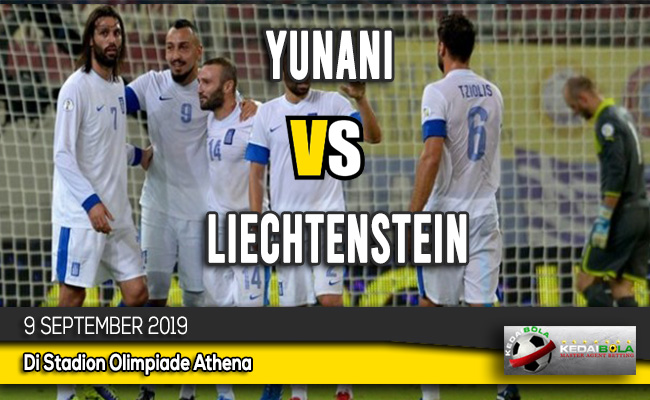 Prediksi Skor Bola Yunani vs Liechtenstein 9 September 2019