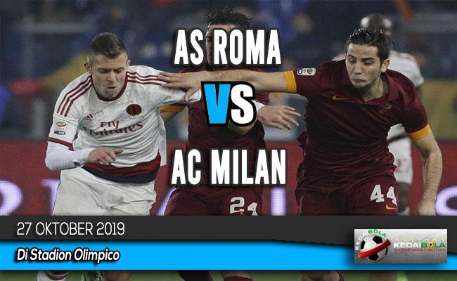 Prediksi Skor Bola AS Roma vs AC Milan 27 Oktober 2019