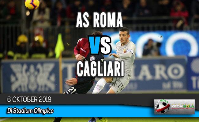 Prediksi Skor Bola AS Roma vs Cagliari 6 Oktober 2019