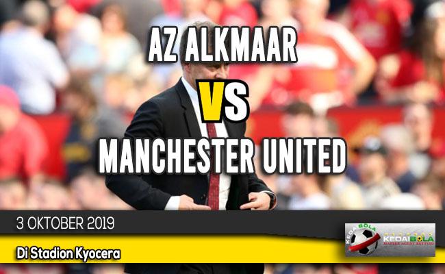 Prediksi Skor Bola AZ Alkmaar vs Manchester United 3 Oktober 2019