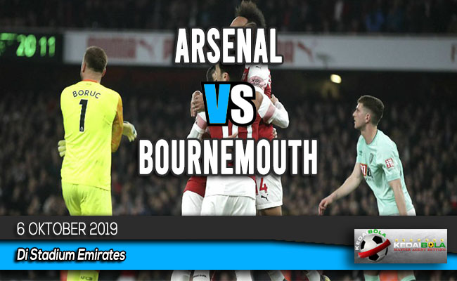 Prediksi Skor Bola Arsenal vs Bournemouth 6 Oktober 2019