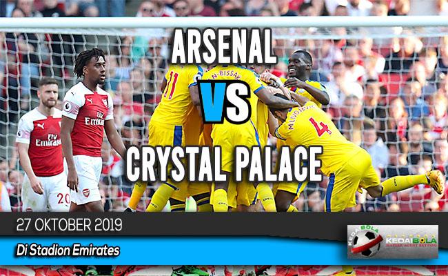 Prediksi Skor Bola Arsenal vs Crystal Palace 27 Oktober 2019