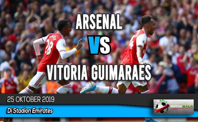 Prediksi Skor Bola Arsenal vs Vitoria Guimaraes 25 Oktober 2019