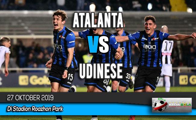 Prediksi Skor Bola Atalanta vs Udinese 27 Oktober 2019