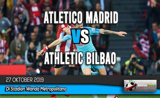 Prediksi Skor Bola Atletico Madrid vs Athletic Bilbao 27 Oktober 2019