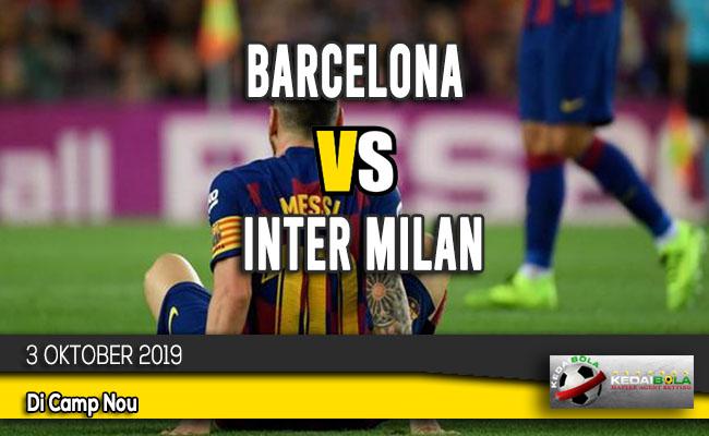 Prediksi Skor Bola Barcelona vs Inter Milan 3 Oktober 2019