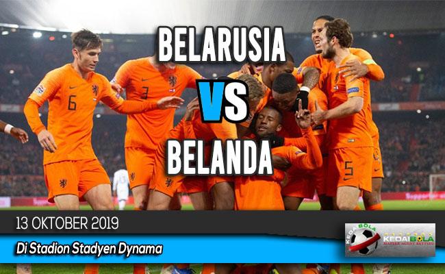 Prediksi Skor Bola Belarusia vs Belanda 13 Oktober 2019