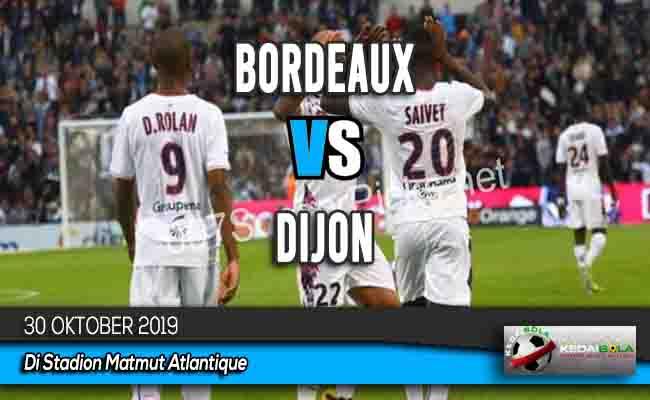 Prediksi Skor Bola Bordeaux vs Dijon 30 Oktober 2019