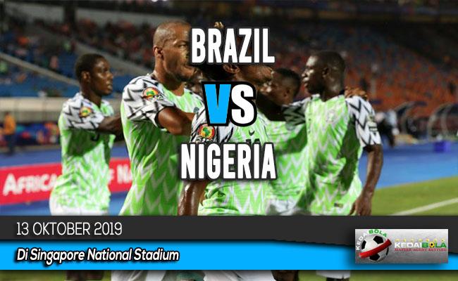 Prediksi Skor Bola Brazil vs Nigeria 13 Oktober 2019