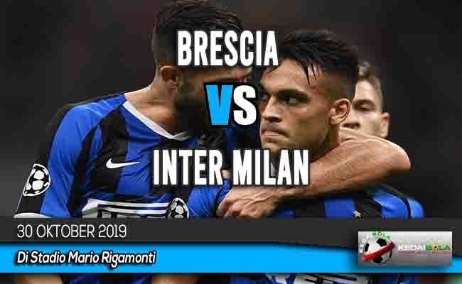 Prediksi Skor Bola Brescia vs Inter Milan 30 Oktober 2019