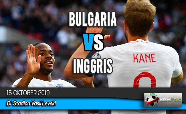 Prediksi Skor Bola Bulgaria vs Inggris 15 Oktober 2019