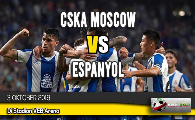 Prediksi Skor Bola CSKA Moscow vs Espanyol 3 Oktober 2019