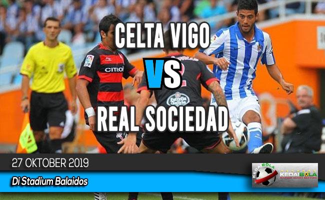 Prediksi Skor Bola Celta Vigo vs Real Sociedad 27 Oktober 2019