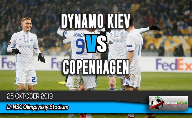 Prediksi Skor Bola Dynamo Kiev vs Copenhagen 25 Oktober 2019