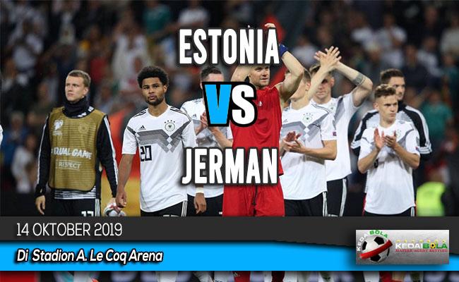 Prediksi Skor Bola Estonia vs Jerman 14 Oktober 2019