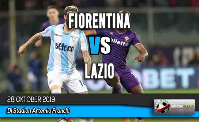 Prediksi Skor Bola Fiorentina vs Lazio 28 Oktober 2019