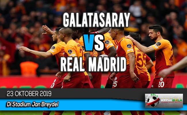 Prediksi Skor Bola Galatasaray vs Real Madrid 23 Oktober 2019