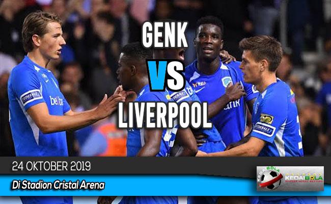 Prediksi Skor Bola Genk vs Liverpool 24 Oktober 2019