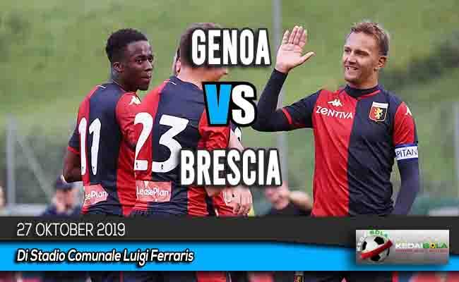 Prediksi Skor Bola Genoa vs Brescia 27 Oktober 2019