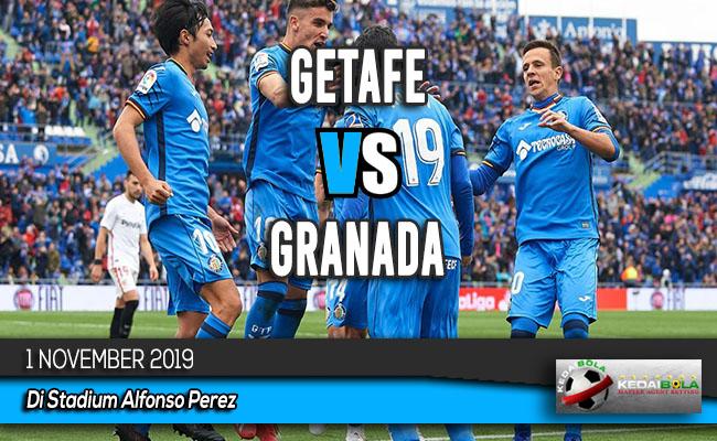 Prediksi Skor Bola Getafe vs Granada 1 November 2019