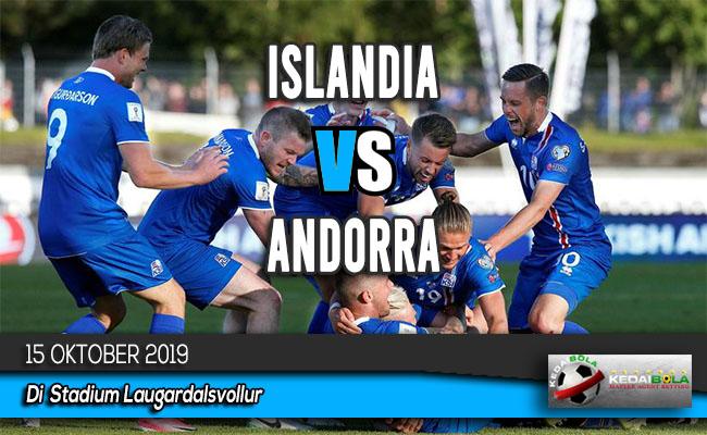 Prediksi Skor Bola Islandia vs Andorra 15 Oktober 2019