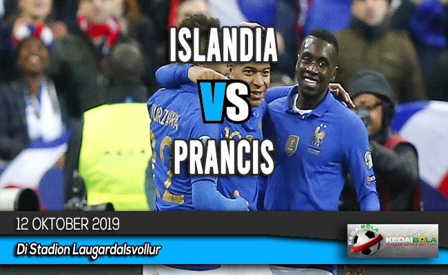 Prediksi Skor Bola Islandia vs Prancis 12 Oktober 2019