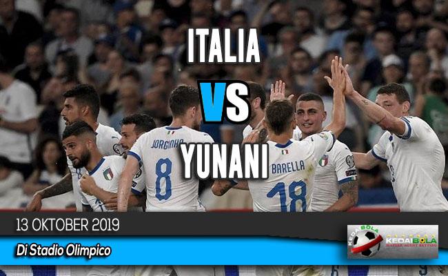 Prediksi Skor Bola Italia vs Yunani 13 Oktober 2019