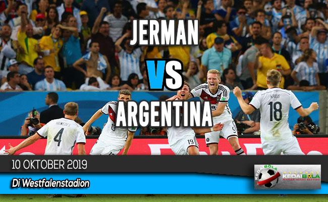Prediksi Skor Bola Jerman vs Argentina 10 Oktober 2019