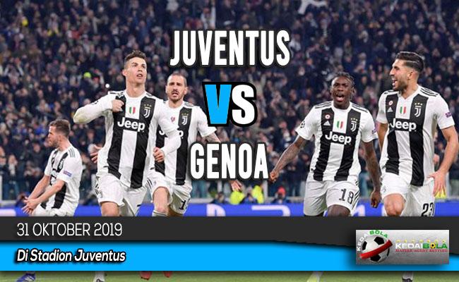 Prediksi Skor Bola Juventus vs Genoa 31 Oktober 2019