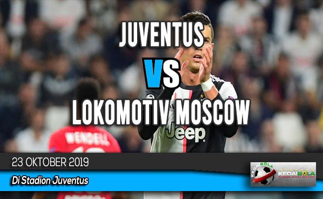 Prediksi Skor Bola Juventus vs Lokomotiv Moscow 23 Oktober 2019