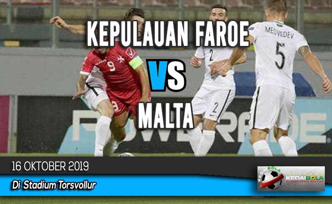 Prediksi Skor Bola Kepulauan Faroe vs Malta 16 Oktober 2019