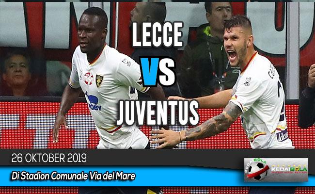 Prediksi Skor Bola Lecce vs Juventus 26 Oktober 2019
