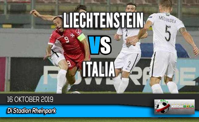 Prediksi Skor Bola Liechtenstein vs Italia 16 Oktober 2019
