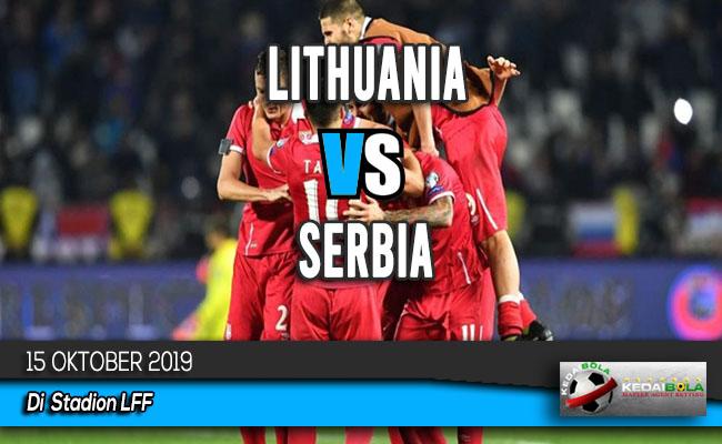 Prediksi Skor Bola Lithuania vs Serbia 15 Oktober 2019