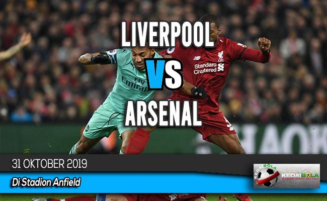 Prediksi Skor Bola Liverpool vs Arsenal 31 Oktober 2019