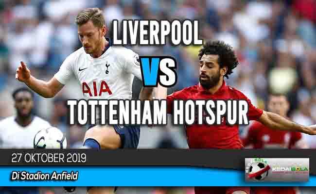 Prediksi Skor Bola Liverpool vs Tottenham Hotspur 27 Oktober 2019
