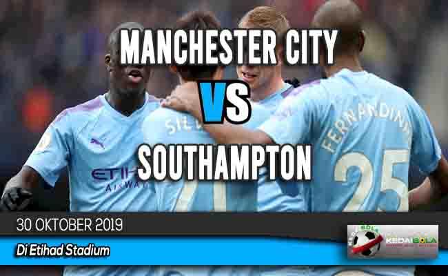 Prediksi Skor Bola Manchester City vs Southampton 30 Oktober 2019