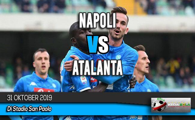 Prediksi Skor Bola Napoli vs Atalanta 31 Oktober 2019