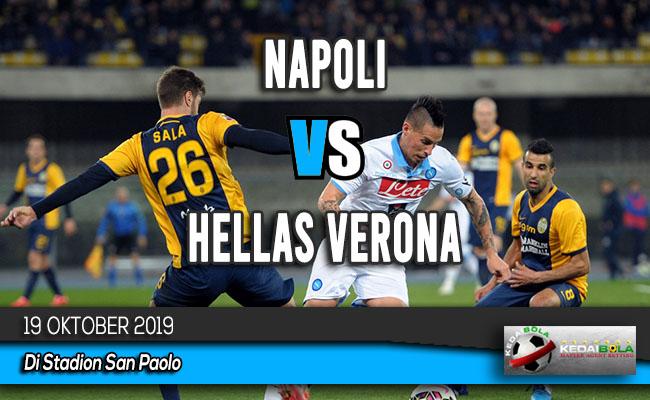 Prediksi Skor Bola Napoli vs Hellas Verona 19 Oktober 2019
