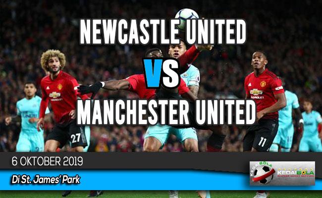 Prediksi Skor Bola Newcastle United vs Manchester United 6 Oktober 2019