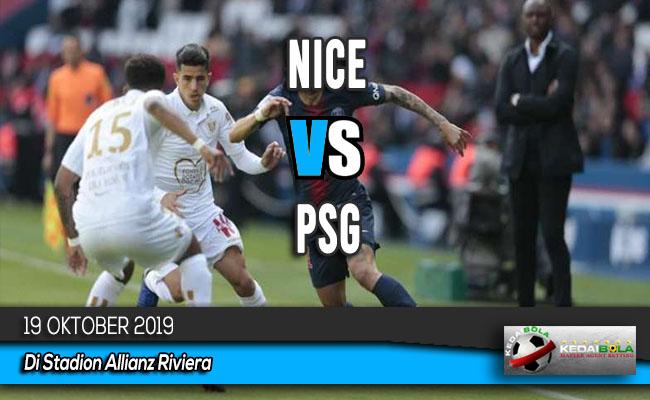 Prediksi Skor Bola Nice vs PSG 19 Oktober 2019