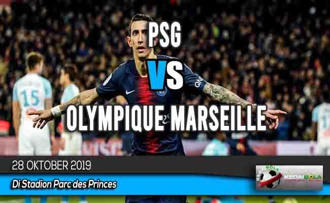 Prediksi Skor Bola PSG vs Olympique Marseille 28 Oktober 2019