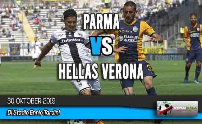 Prediksi Skor Bola Parma vs Hellas Verona 30 Oktober 2019