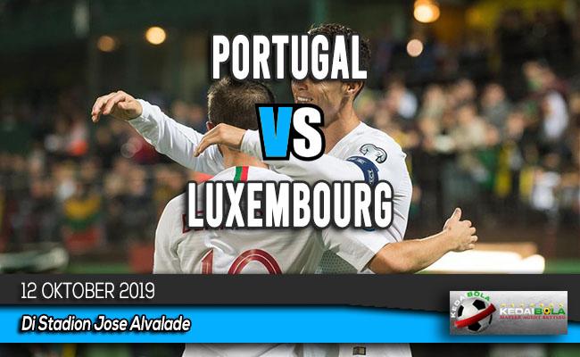 Prediksi Skor Bola Portugal vs Luxembourg 12 Oktober 2019