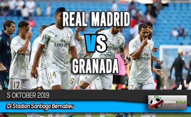 Prediksi Skor Bola Real Madrid vs Granada 5 Oktober 2019
