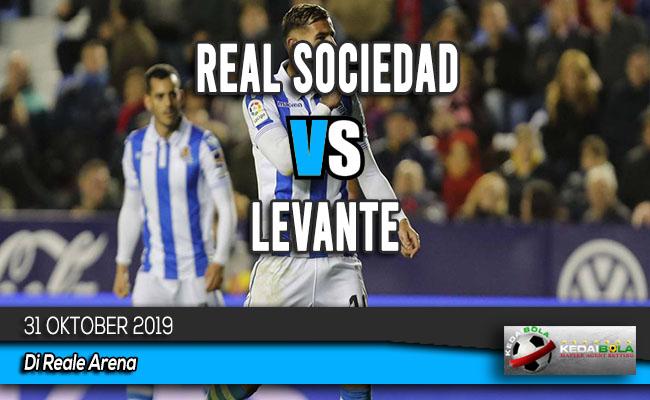 Prediksi Skor Bola Real Sociedad vs Levante 31 Oktober 2019